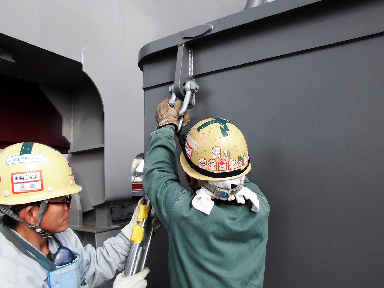 造船所 溶接 岡山